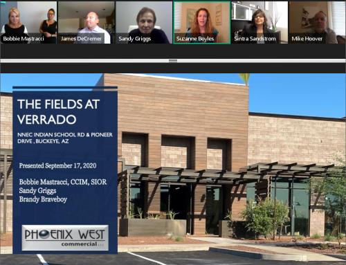 Phoenix West Commercial professionals showcase Fields at Verrado as part of WESTMARC's West Valley virtual tour