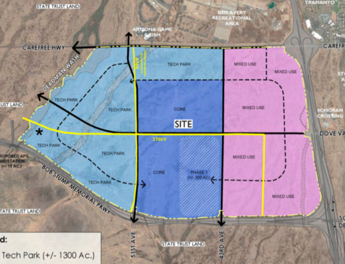 1,128 acres intended for employment corridor in north Phoenix to be sold at auction